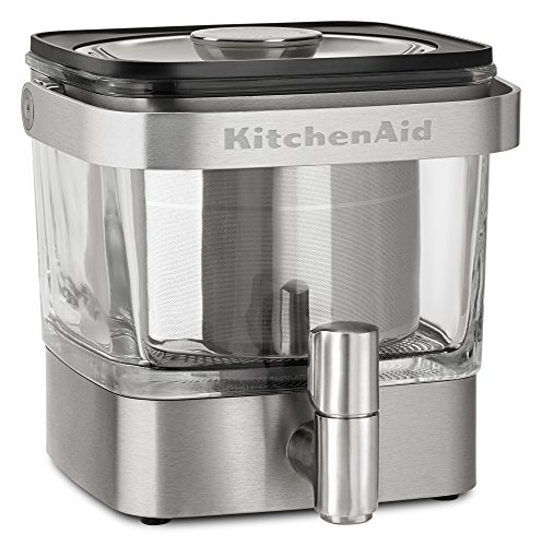 KitchenAid Cold Brew Coffee Maker, Brushed Stainless Steel