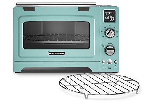 KitchenAid Convection 1800-watt Digital Countertop Oven, 12-Inch, Aqua Sky