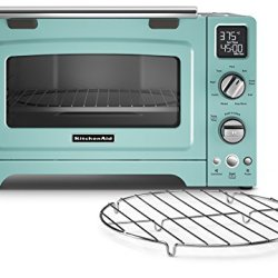 KitchenAid Convection 1800-watt Digital Countertop Oven, 12-Inch, Aqua Sky