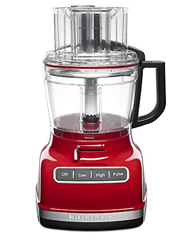 KitchenAid 11-Cup Food Processor with Exact Slice System - Empire Red