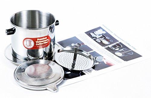 Vietnamese Coffee Filter Set. Also known as a Vietnamese Coffee Maker or Press 8oz