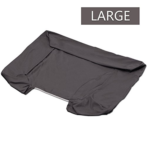 PetFusion Replacement Cover for Ultimate Dog Lounge (Large, Brown)