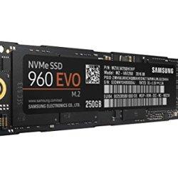 Samsung 960 EVO Series - 250GB PCIe NVMe - M.2 Internal SSD