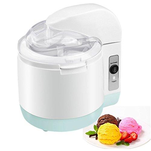 Ice Cream Maker, 2018 Automatic - Homemade Frozen Yogurt Machine