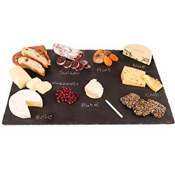 4 Sizes to Choose: Extra Large Stone Age Slate cheese boards