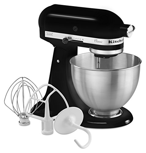 KitchenAid 4.5-Quart Classic Series Stand Mixer, Onyx Black