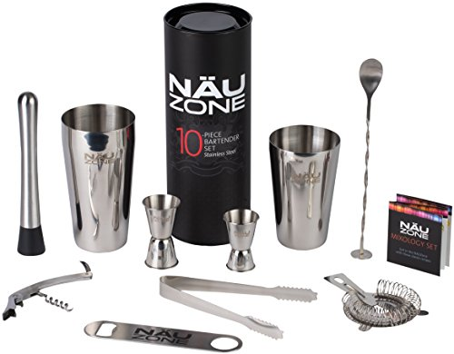 Household Quality Barware Set: Boston Shaker Bar Set