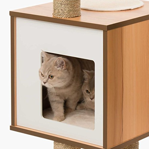 Vesper Cat Furniture Walnut V High Base Best Offer