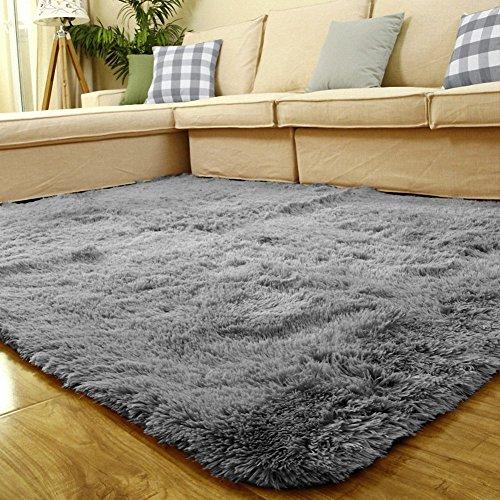 Sytian Large Size 4 Feet X 5 Feet 4.5cm Thick Decorative Modern Shaggy Area