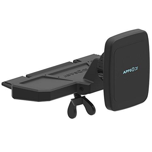 APPS2CAR Magnetic Universal CD PlayerCar Phone Mount