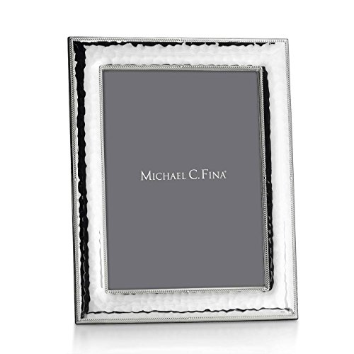 Michael C. Fina Tribecca Frame, Sterling Silver, 4-Inch-By-6-Inch