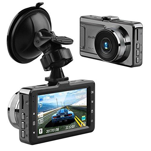 AKASO D2000 Dash Camera FHD 1080P Dash Cam 3 Inch Screen Car Camera