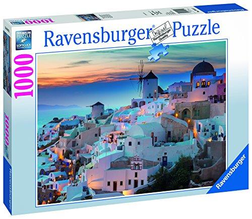 Ravensburger Santorini-Greece Jigsaw Puzzle (1000 Piece)
