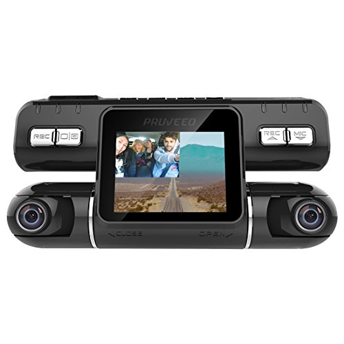 Pruveeo MX2 Dash Cam Front and Rear Dual Camera for Cars