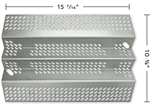 Music City Metals Stainless Steel Heat Plate Replacement for Select American Outdoor Grill Gas Grill Models