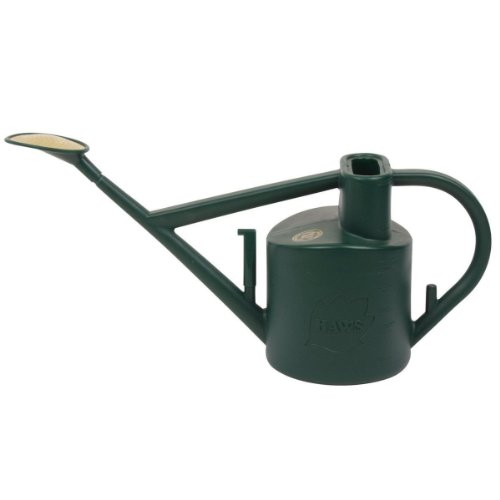Bosmere Green Haws 6-Liter Plastic Outdoor Watering Can