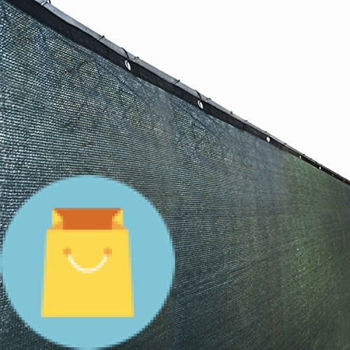 Fence Privacy Screen Outdoor Backyard Fencing Windscreen Shade Cover Mesh
