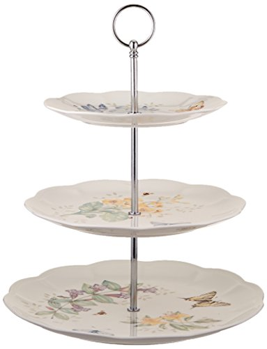Lenox Butterfly Meadow 3-Tiered Server