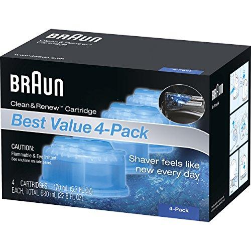 Braun Clean & Renew Refill Cartridges CCR
