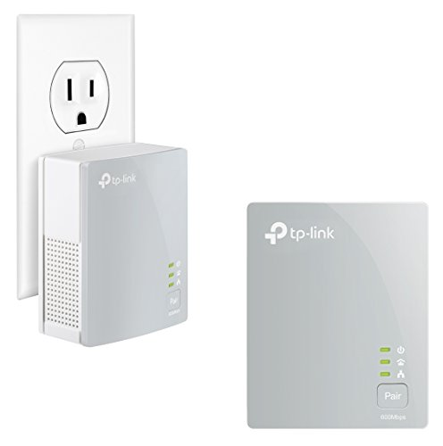 TP-Link AV600 Nano Powerline Adapter Starter Kit