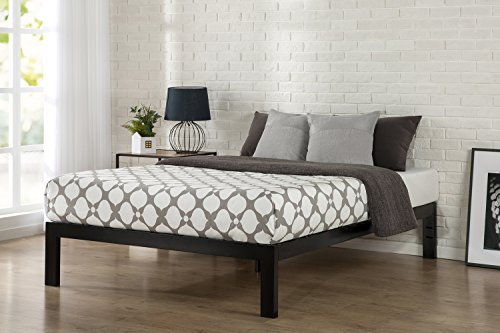 Zinus Quick Snap TM 14 Inch Platform Bed Frame, Mattress Foundation