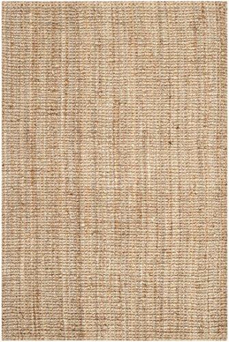 Safavieh Natural Fiber Collection Hand Woven Natural Jute Area Rug (8' x 10')