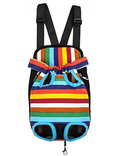 Pet Travel Bags Dogs cats Legs Out Front Carriers