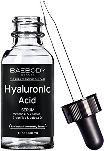 Baebody Hyaluronic Acid Serum for Face, Professional Anti-Aging Topical Facial Serum