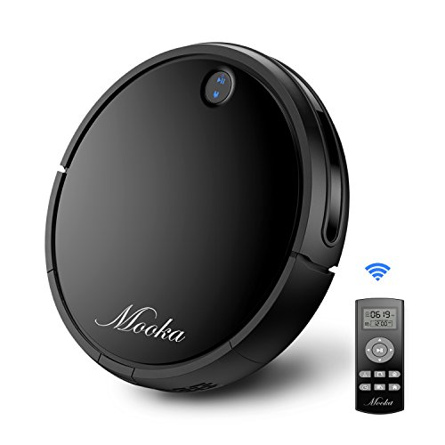 Robotic Vacuum Cleaner MOOKA, Tangle-free Suction for Pet Hair