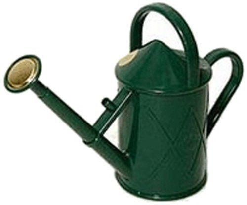 Haws Heritage Indoor Plastic Watering Can, 0.25-Gallon/1-Liter, Green