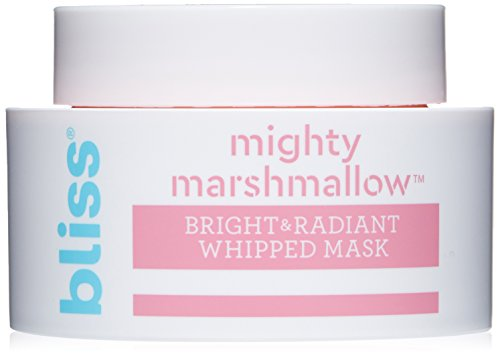 Bliss Mighty Marshmallow Face Mask Bright & Radiant Whipped Facial Mask Straight-from-the-Spa Paraben