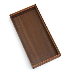 Lipper International Acacia Stacking Drawer Organizer Box