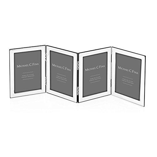 Michael C Fina Manhattan Quadruple Frame, Sterling Silver