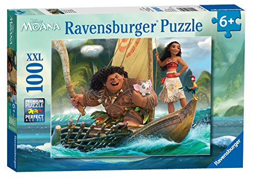 Ravensburger Disney Moana One Ocean One Heart Puzzle (100 Piece)