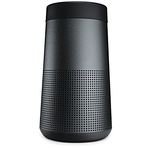 Bose SoundLink Revolve Portable Bluetooth 360 Speaker, Triple Black
