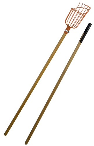 Flexrake Fruit Picker with 8-Foot 2-Piece