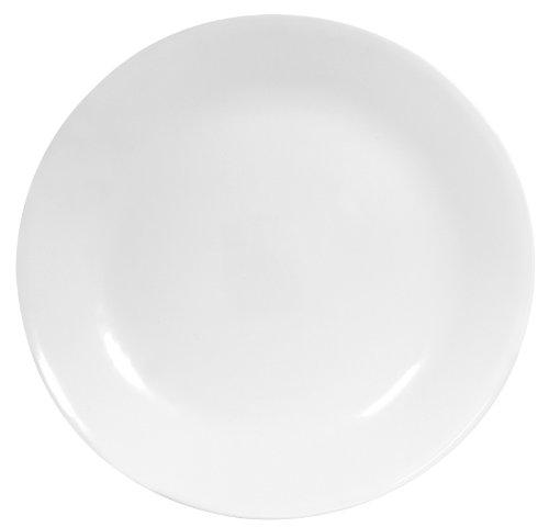 Corelle Livingware 6-Piece Dinner Plate Set, Winter Frost White
