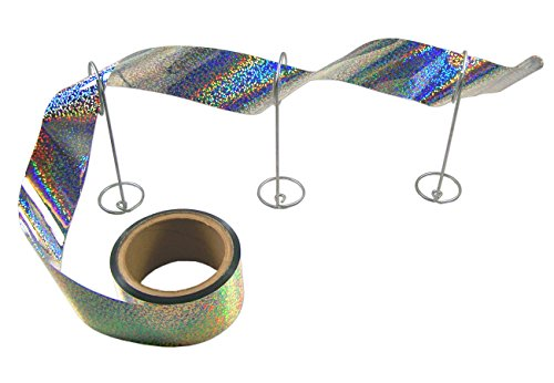 Bird-X Irri-Tape Holographic Iridescent Foil Bird Scare Tape