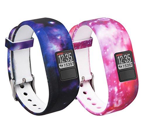Garmin Vivofit 3 and Vivofit JR Fitness Bands With Secure Watch Clasp