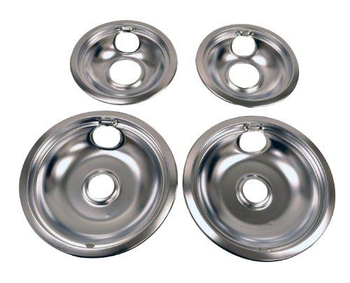 Whirlpool Drip Pan Kit, Chrome