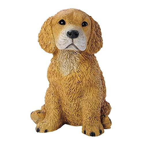 Design Toscano Golden Retriever Puppy Dog Statue