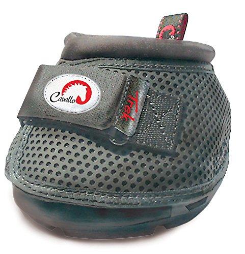 Cavallo Horse & Rider Trek Slim Sole Hoof Boots, Size 1