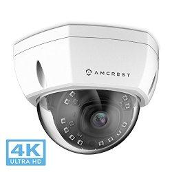 Amcrest UltraHD 4K (8MP) Outdoor Security POE IP Camera