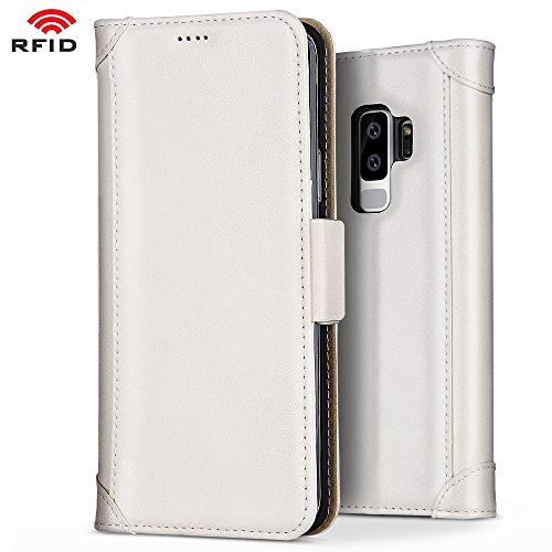 Belk Galaxy S9 Plus Wallet Case, White