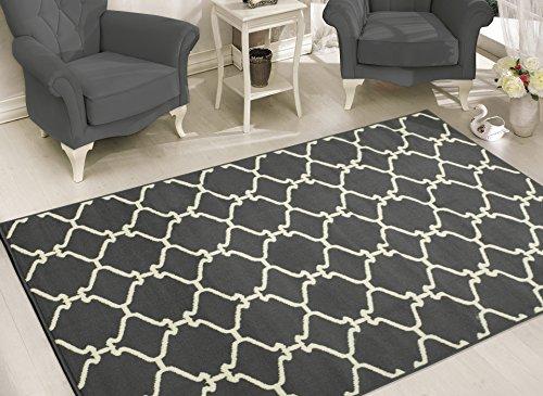 Sweet Home Stores Clifton Collection Moroccan Trellis Design Area Rug