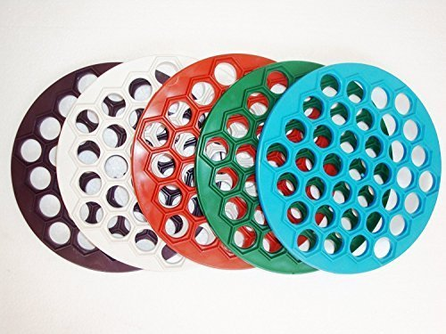 Plastic Russian Pelmeni Form Ravioli Maker Dumplings by 1000 Melochey