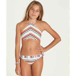 Billabong Big Girls' Like That High Neck Bikini Swim Set