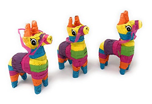 Amazon.com: Mini Bull or Donkey Pinata Decorations: Kitchen & Dining | 344x500
