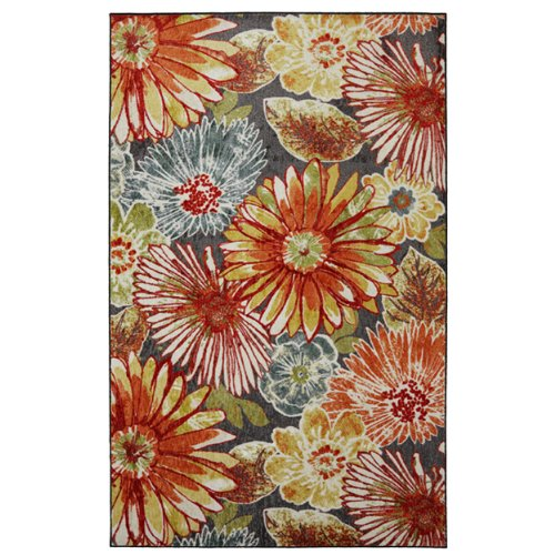 Mohawk Home New Wave Charm Floral Printed Area Rug