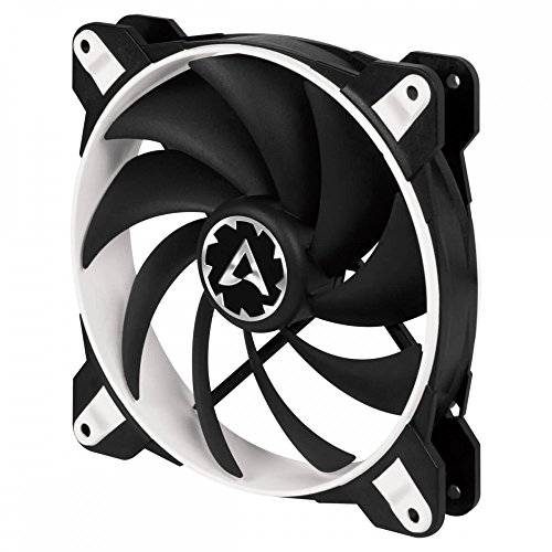 ARCTIC BioniX F140 - 140 mm Gaming Case Fan with PWM PST | Cooling Fan with PST-Port (PWM Sharing Technology) | Regulates RPM in sync - White